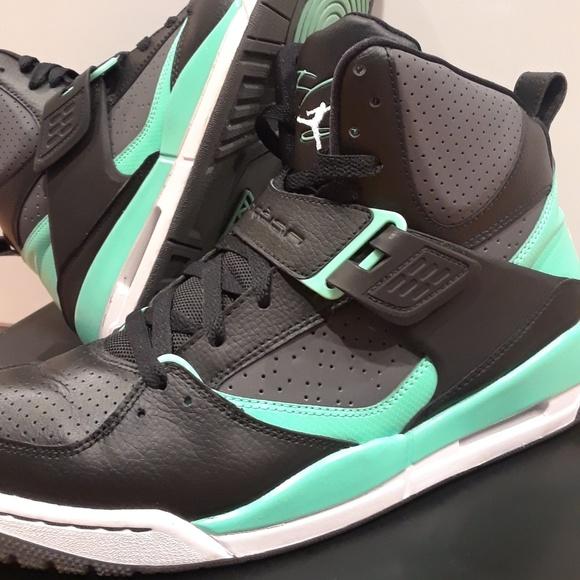 brand new 3a22d 31ba9 Jordan Other - Nike Air Jordan Flights 45 High Rare Green Glow!